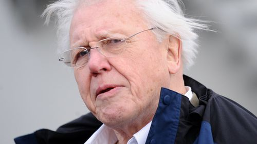 Climate change 'greatest threat we face': David Attenborough