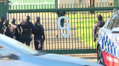 A man has been charged with forcing a woman into his car, taking her to a bikie club house and assaulting her.