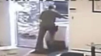 A delivery worker in the US will be cursing the omnipresence of security cameras after he was caught carelessly kicking and rolling a $13,500 package along the ground like a discarded can.  The New York UPS courier was filmed handling the parcel without care at a Long Island business on Monday.  The box reportedly contained a pressure gauge worth more than $13,500.  UPS has apologised for the incident saying the company does not condone the driver's behaviour and is investigating the issue.  Click through to see more shocking videos of careless couriers.