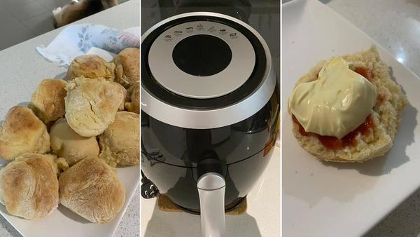 Air fryer scone hack