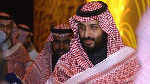 Saudi Crown Prince Mohammad bin Salman.
