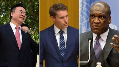 Political donor behind UN bribery scandal named