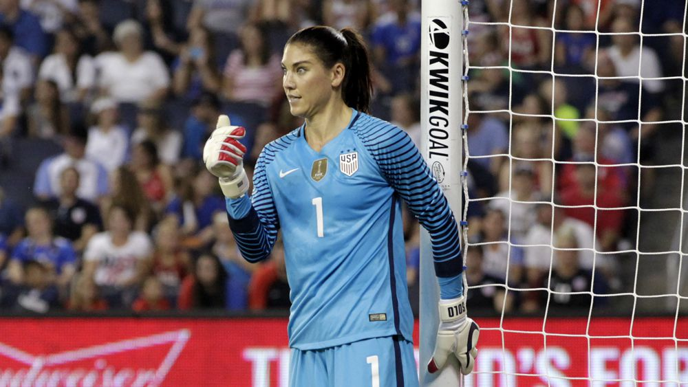 Hope Solo. (Getty)