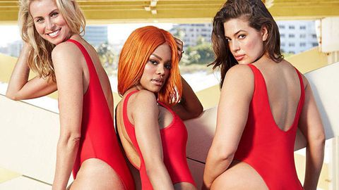 Ashley Graham Baywatch campaign