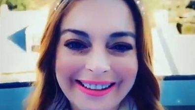 Lindsay Lohan to the judge The Masked Singer in Australia.