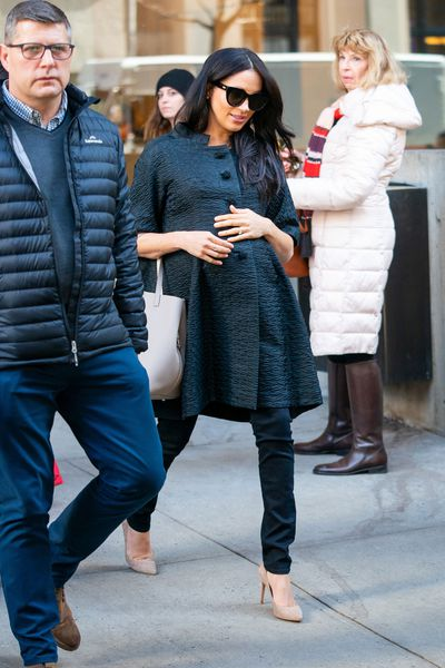 The Duchess of Sussex in NYC, February 2019