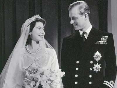 Buckingham Palace commemorates Prince Philip and the Queen's 73-year marraige