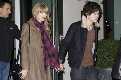 """As """"Haylor"""" fever spread, so did the rumours. One particularly out-there rumour was that Taylor was carrying Harry's baby. It all turned out to be a hoax by comedy site Weekly World News, whose prank story was taken way too seriously by media outlets and fans. Now that's worth writing a song about!"""