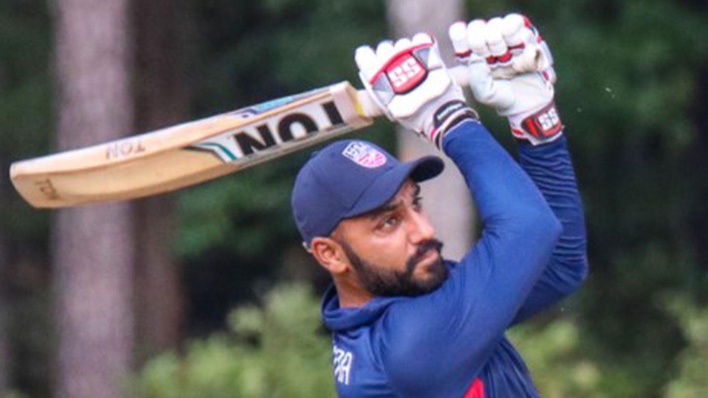 USA batsman Jaskaran Malhotra tonks six sixes in an over in an ODI, joining elite company