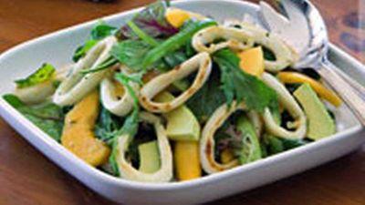 "<a href=""http://kitchen.nine.com.au/2016/05/17/12/16/calamari-salad"" target=""_top"">Calamari salad </a>recipe"