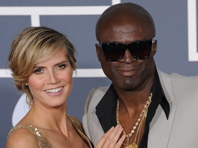 Heidi Klum, Seal, 53rd Annual Grammy Awards, Staples Center, February 13, 2011, Los Angeles, California