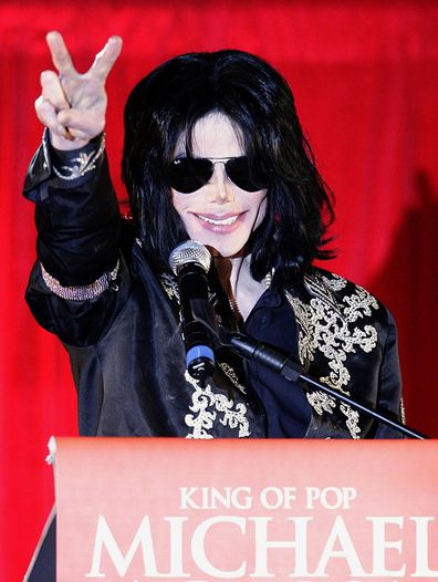 Michael Jackson, press conference, This Is It, tour