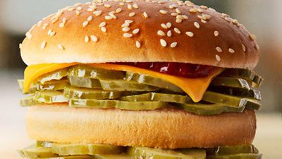 McDonald's launch burger with a twist