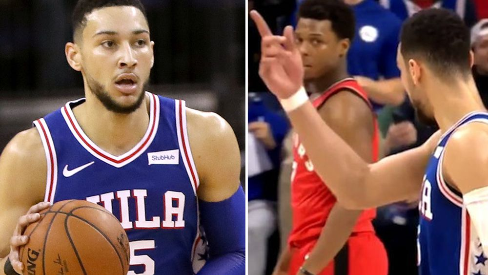 Simmons ejected in Philadelphia's NBA win