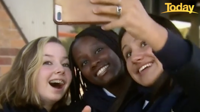 'Unsettling'. That's how three high school students in Melbourne described face filters.