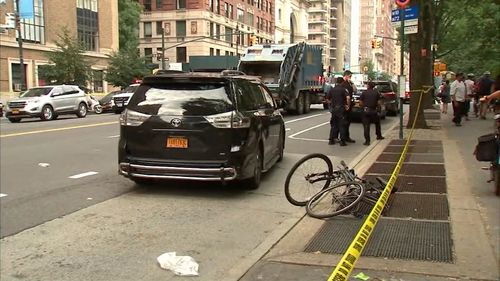 The NYPD Collision Investigation Squad is investigating.
