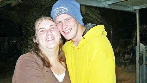 Nilkki Kelly pictured with her husband David Veri before her sudden death