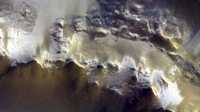 European Space Agency releases first image from Mars orbiter