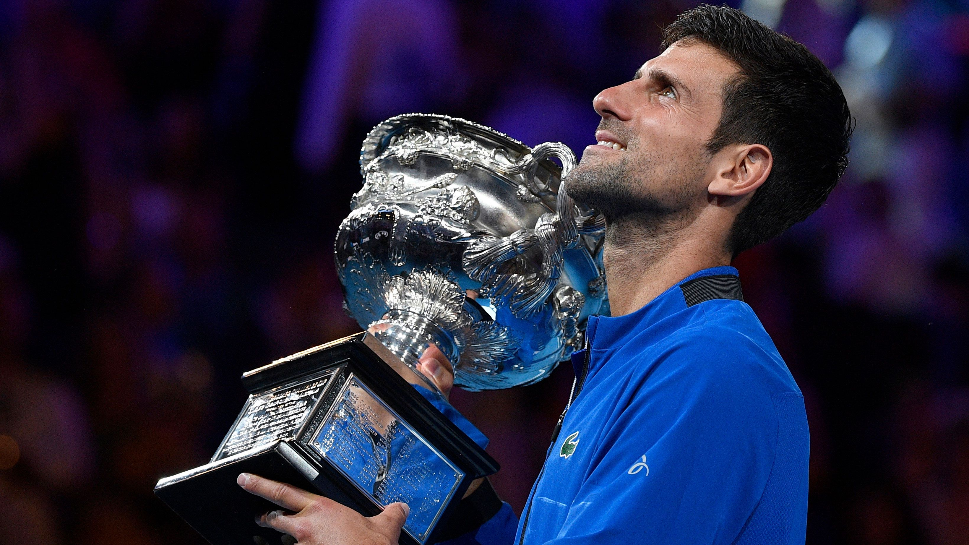 Novak Djokovic sets incredible marks after winning seventh Australian Open championship