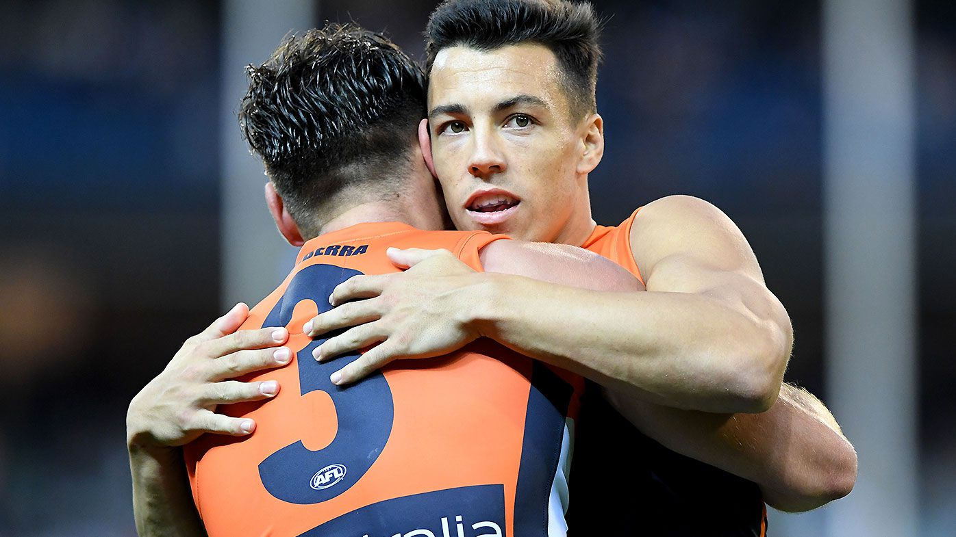 GWS Giants star Dylan Shiel reportedly set to tell club of his intention to leave to Victoria