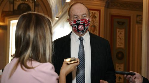 Richard Shelby is pushing for billions for military hardware in Congress's coronavirus support package.