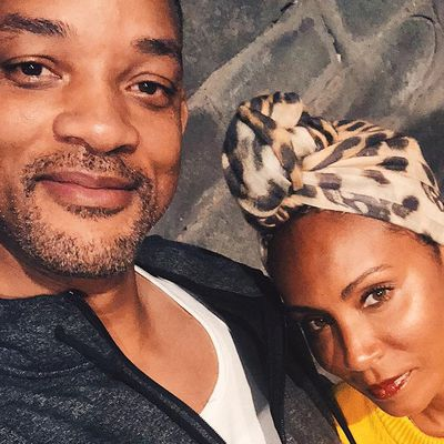 Jada and Will dated before his divorce was finalised