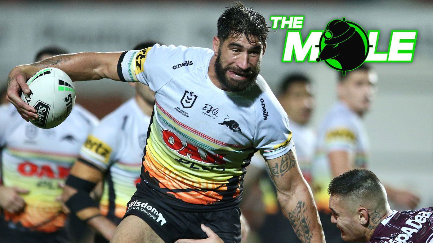 The Mole: Cronulla Sharks eyeing off James Tamou amid concerns Andrew Fifita is spent