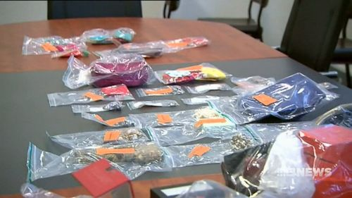 The valuables ranged from jewellery and handbags to electronics and rare alcohol.