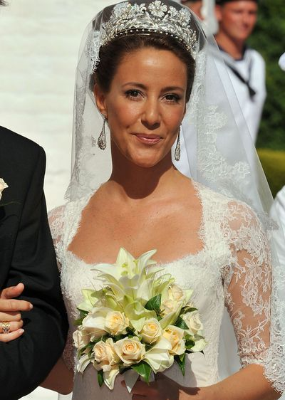 Princess Marie of Denmark: Floral tiara