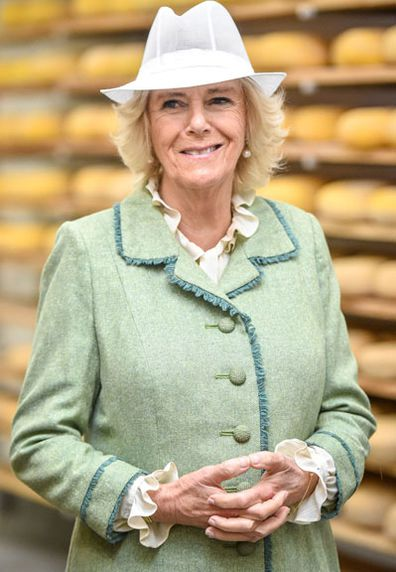 3 Camilla, Duchess of Cornwall visits The Bath Soft Cheese Company