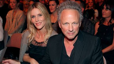 Lindsey Buckingham of Fleetwood Mac and wife Kristen Buckingham attends the 2012 American Country Awards at the Mandalay Bay Events Center on December 10, 2012 in Las Vegas, Nevada.