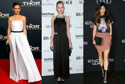 Check out all the glamour of this week's film premiere red carpets!