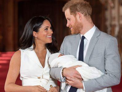 Prince Harry Meghan Markle Archie Harrison Mountbatten-Windsor Victoria Arbiter