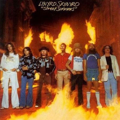 Doesn't look offensive, does it? Well, three days after this album was released, several members of Lynyrd Skynyrd died in a plane crash.