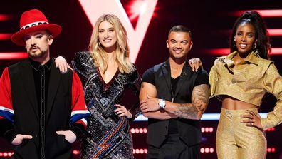 The Voice Australia coaches