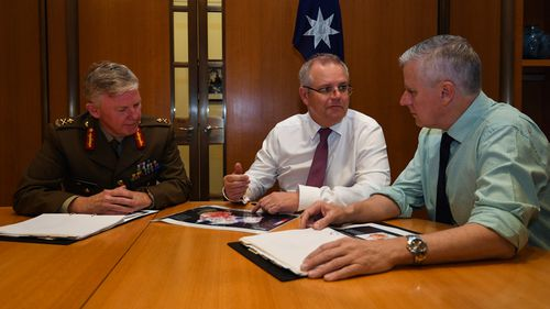 Mr Morrison is expected to announce his new front bench sometime in the next few days.