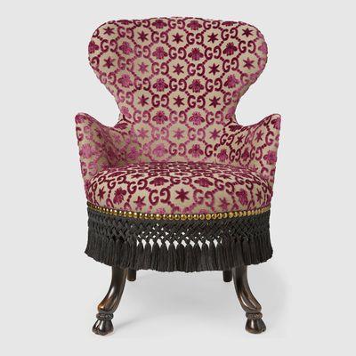 GG jacquard armchair, $8,460
