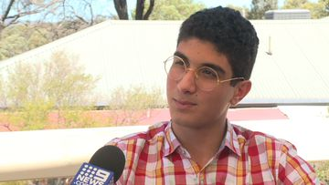 The 19-year-old spoke to 9News about his uncertain future.
