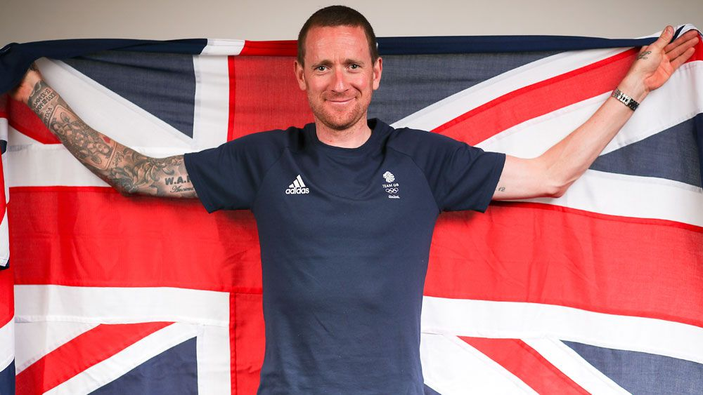 British cyclist Bradley Wiggins. (AAP)