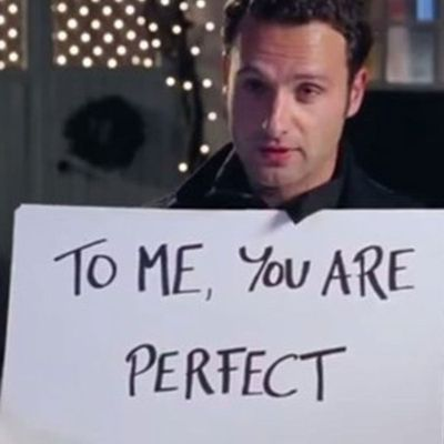 Andrew Lincoln wrote all his own signs