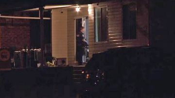 Police attend a property in Mount Pritchard following reports of gunshots.