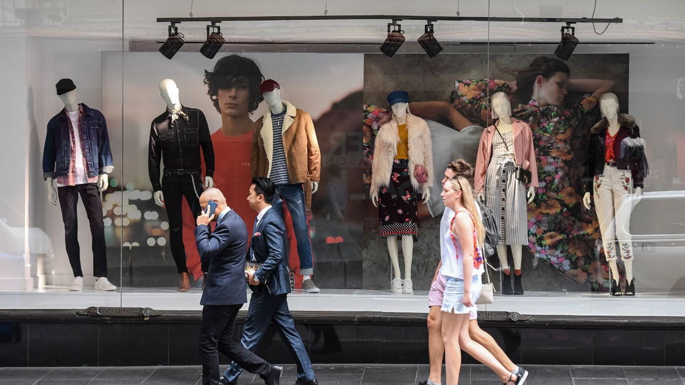 Retail spending was down in April.