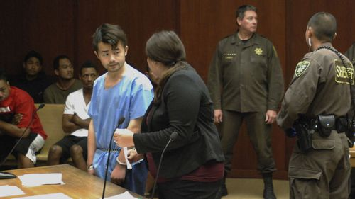 Yu Wei Gong dismembered his mother and put her body in the fridge.