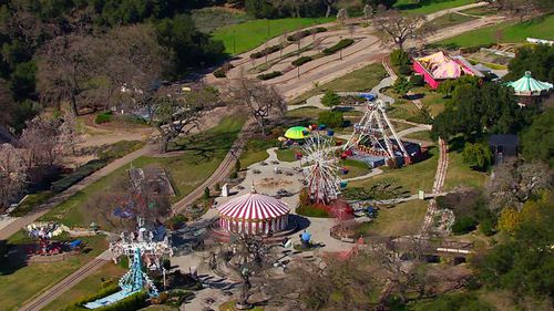 The Neverland ranch.
