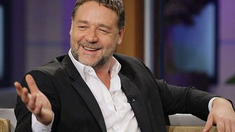 Watch: Russell Crowe tells of son's cute reaction to him playing Superman's dad