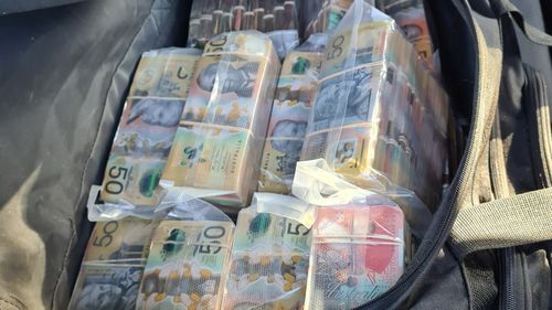 Police seize almost $3 million in cash from Gold Coast car