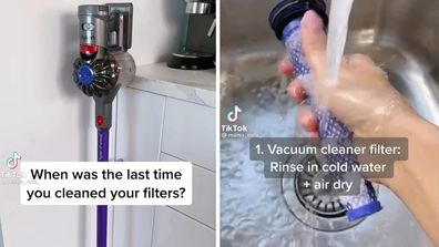 How to clean filters at home