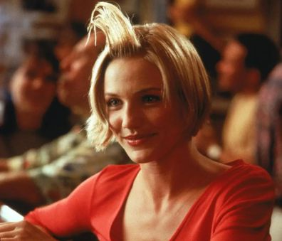 Cameron Diaz in the 1998 film there's Something About Mary.