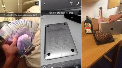 No amount of money will make an iPad an expensive cake-cutter. Besides, you can buy more expensive knives than that. (Private School Snapchats)