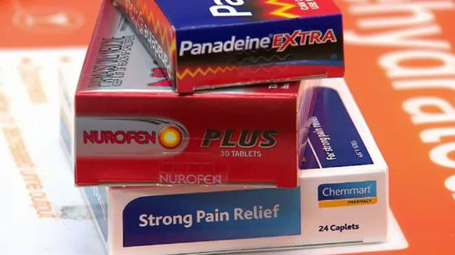 All codeine-based painkillers will require a prescription from Thursday. (9NEWS)